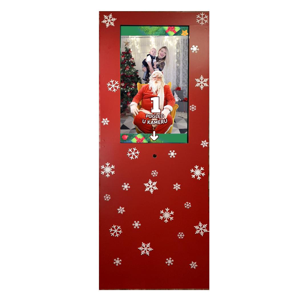Fotografiranje s Djedom Božićnjakom - Party Photobooth