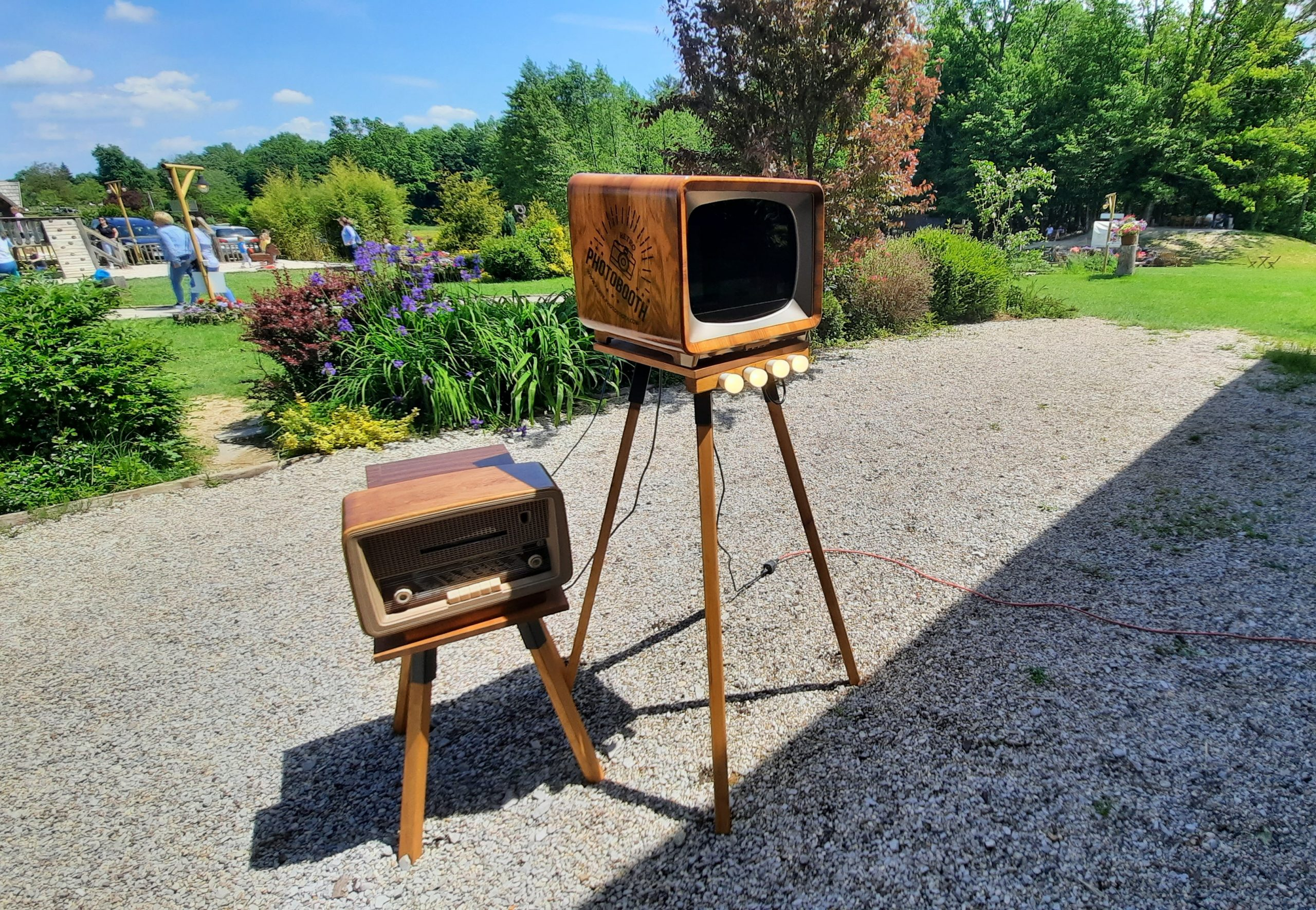 Najam Photo booth Retro uređaj za vjenčanja